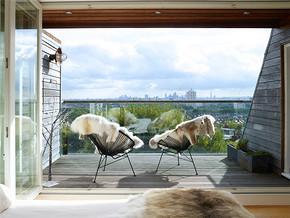 现代阳光房清新阳台装修风格