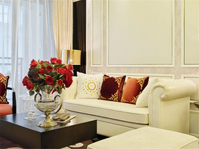 简欧风情时尚复式客厅装修设计