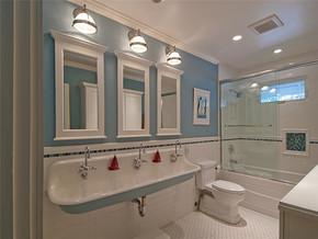 欧式卫生间一室一厅装修效果图