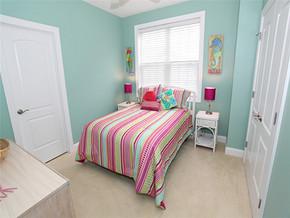 可爱田园卧室一室一厅装修效果图