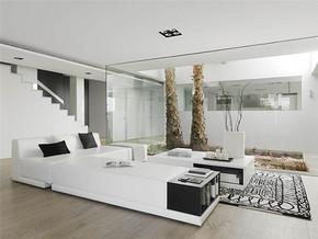 温馨简约风复式客厅装修图片