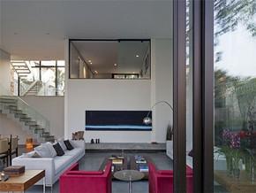 现代风格复式客厅时尚装修设计