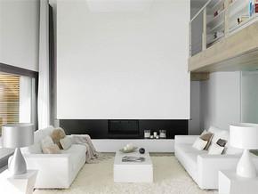 简约时尚复式客厅装修图片