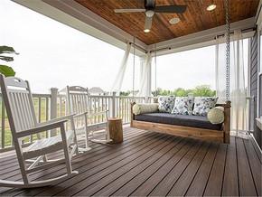 现代清新舒适阳台装修案例