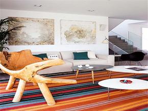 简欧时尚复式客厅装修设计
