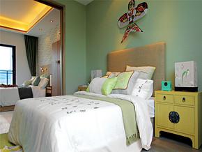东南亚风格别墅卧室家居装修