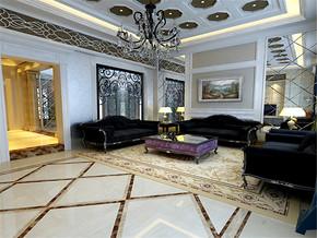 大气别墅欧式客厅装修设计风格