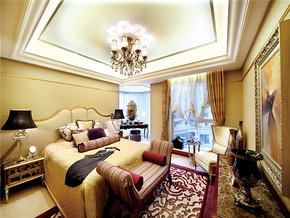 大气欧式奢华卧室二层别墅图片大全