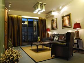 韩式一居室客厅装修效果图