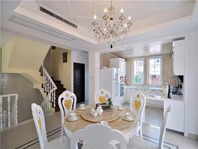 家装现代餐厅复式装修设计