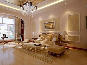 大气复式欧式客厅装修设计案例