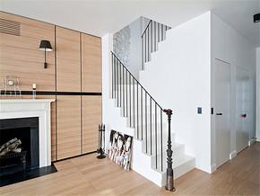 复式纯净欧式客厅装修案例