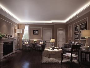 东南亚风格别墅客厅室内装饰图