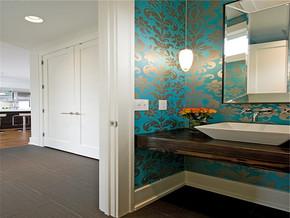 东南亚古典卫浴时尚别墅样板房设计