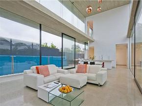 现代别墅客厅装修图片