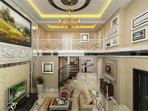 大气别墅欧式风格客厅经典案例图