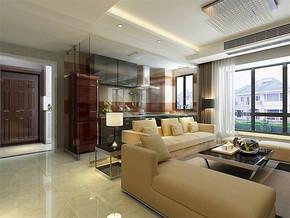现代客厅背景墙设计片装修效果图