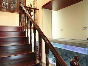 新中式风格楼梯装修图片