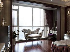 新古典卧室阳台装修图片