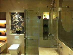 中式卫生间全景装修图