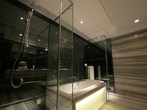 现代卫生间装修图片