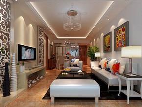 现代客厅灯具图片装修效果图
