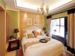 现代12平米卧室装修图
