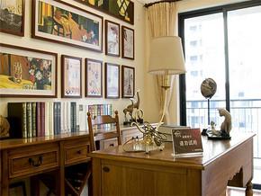 乡村风格书房装修图片