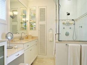 简约小型洗手间装修图片