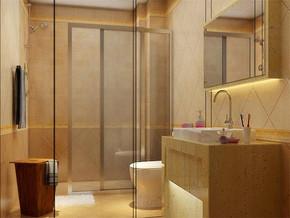 欧式洗浴室装修效果图