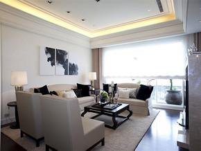 现代客厅家具装修效果图