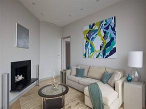 简约风格复式客厅设计