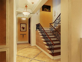 新古典欧式走廊装修效果图
