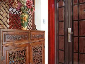 新中式入户玄关装修图片