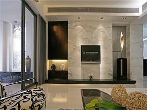 现代客厅家装吊顶设计效果图
