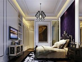 欧式别墅卧室装修效果图