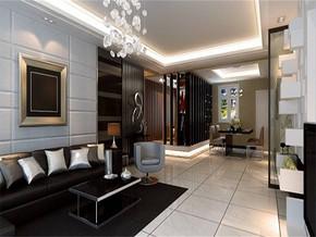 现代客厅风格吊顶效果图