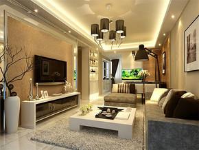 现代风格小户型客厅装饰设计片