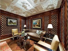 现代古典风格客厅装修效果图