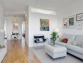 现代简约风格小户型客厅影视墙
