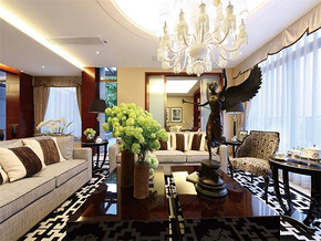 现代风格小户型客厅颜色搭配