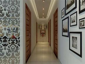 现代风格走廊照片墙装修效果图