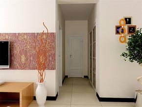 现代简约风格客厅过道装修效果图