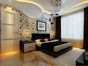 现代简约16平米卧室装修图
