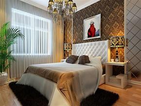 现代简约小户型卧室设计装修效果图