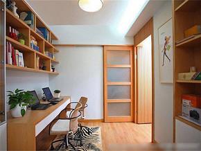 现代风格书房装修图