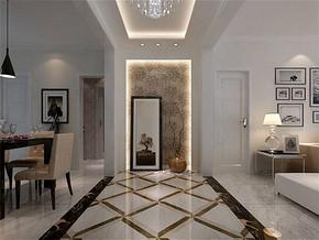 现代风格走廊效果图