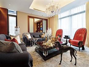 现代风格小户型客厅颜色搭配装修效果图