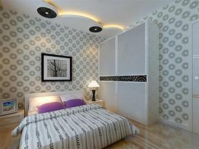 现代简约15平小卧室装修效果图