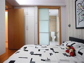 现代风格卧室装修图
